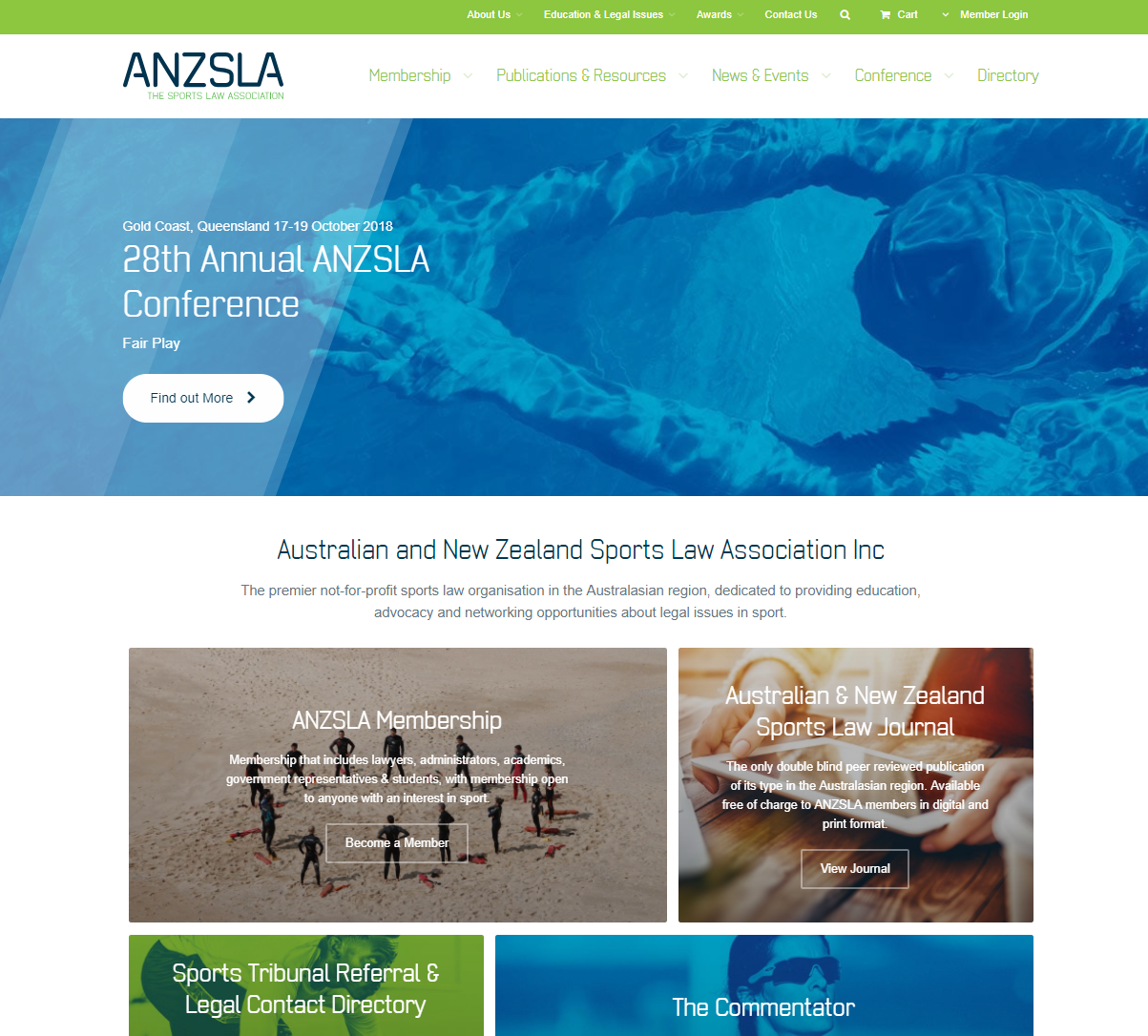 2c4c3f79f3e0 The premier not-for-profit sports law organisation in the Australasian  region