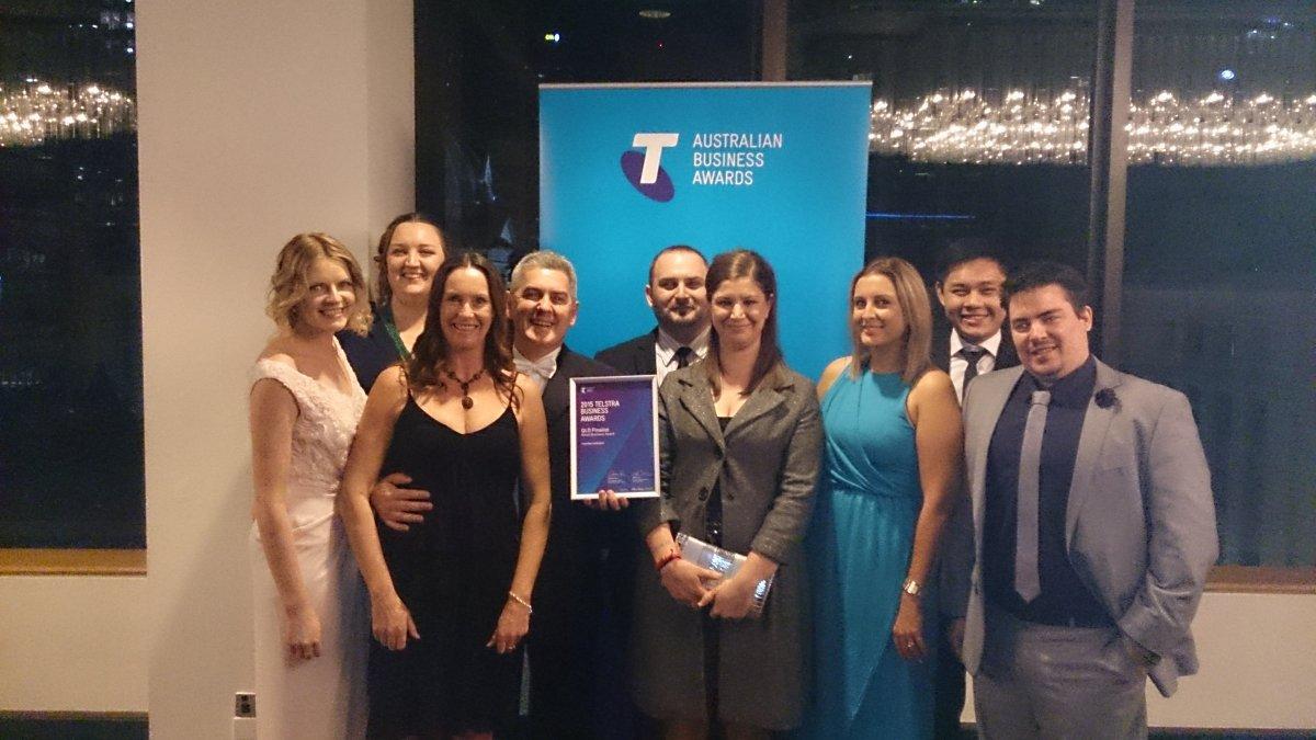 Member Evolution Team at the Awards Night