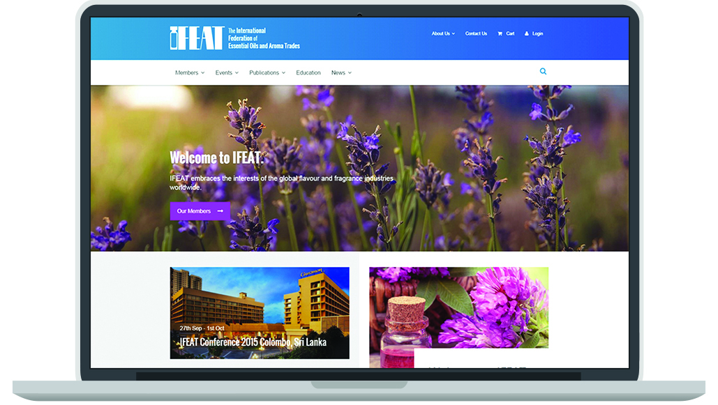 IFEAT membership managment solution website