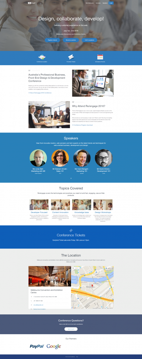 ME Conference Management System for Associations